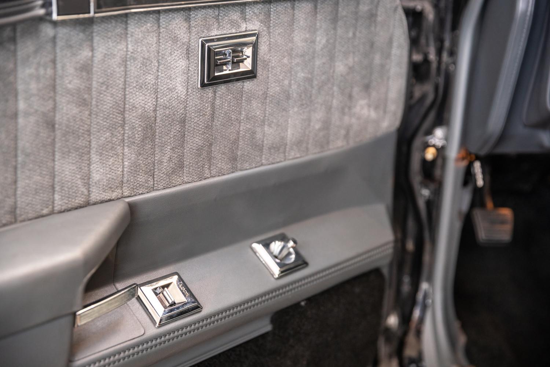 1987 Buick GNX interior door panel
