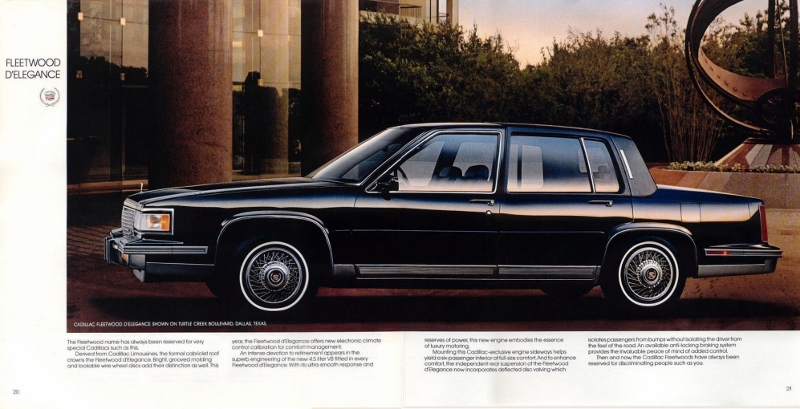 80s cadillac fleetwood delegance side-view