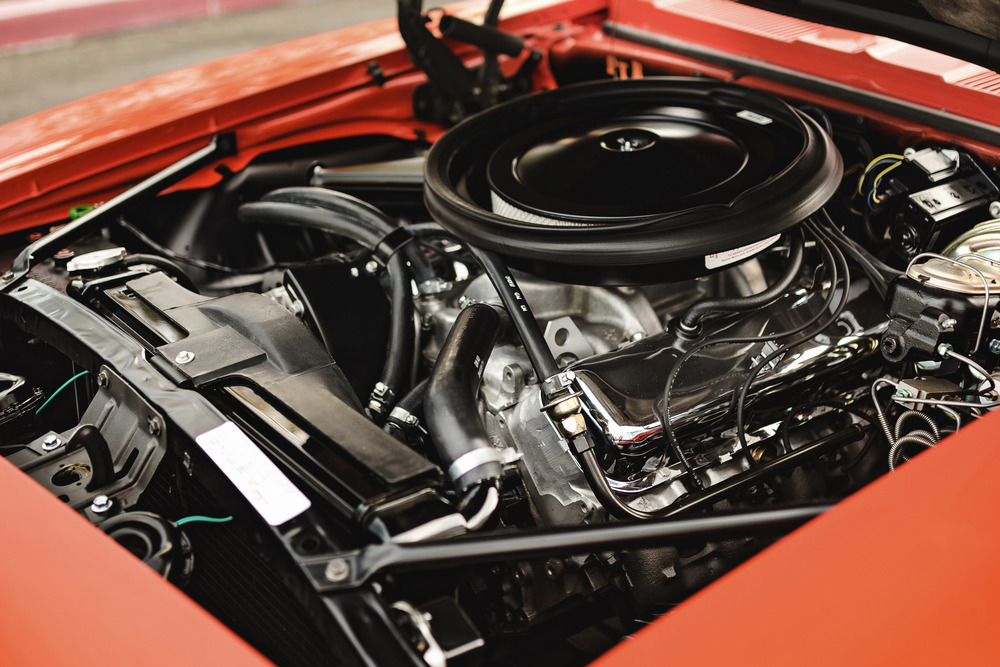 1969 ZL1 COPO Camaro Chevrolet engine