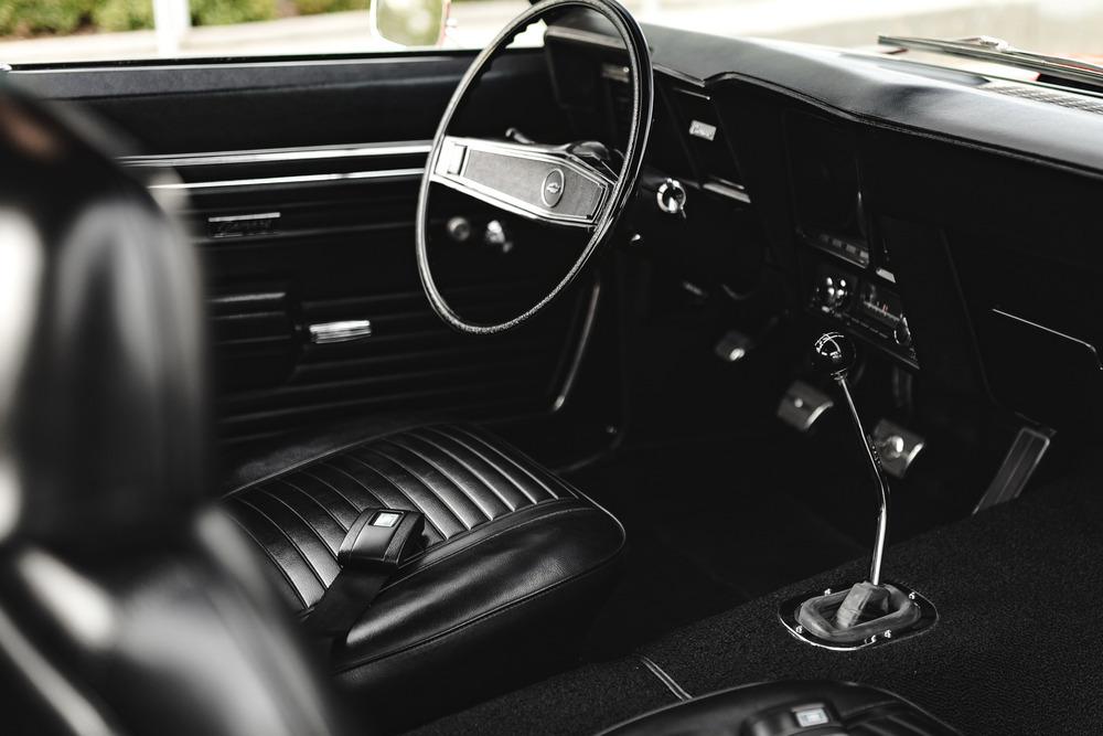1969 ZL1 COPO Camaro Chevrolet interior