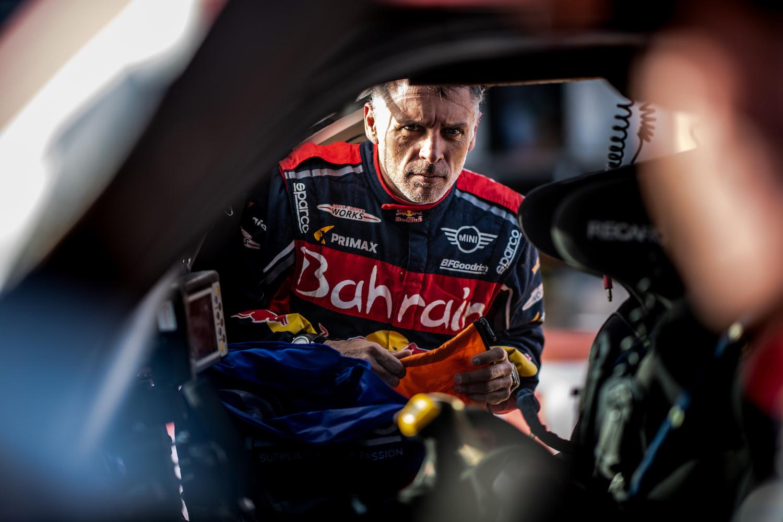 rally car driver
