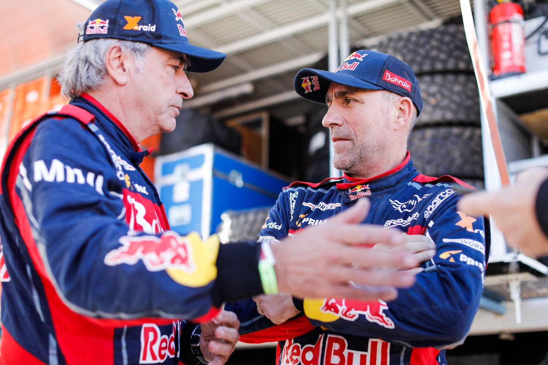 rally car drivers talking