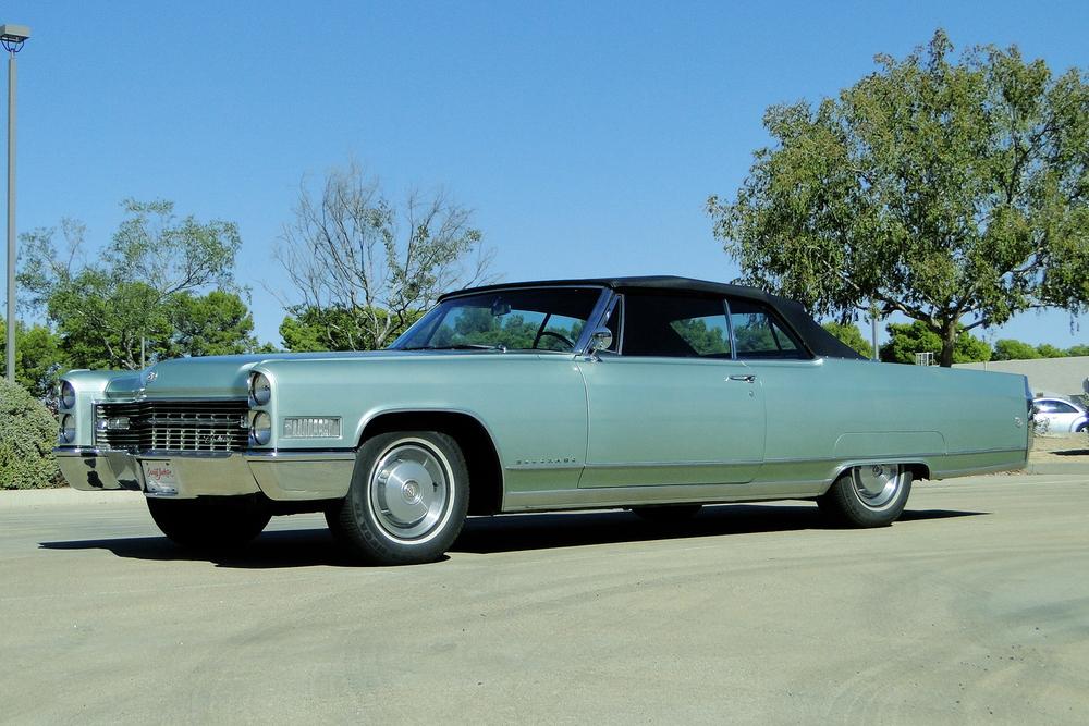 1966 Cadillac Eldorado Convertible front three-quarter