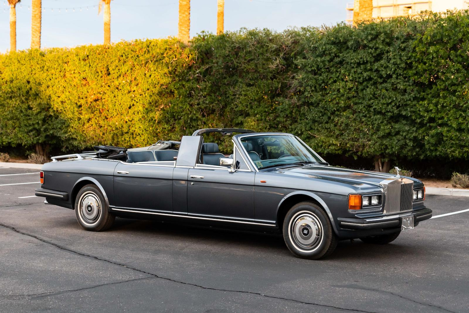1987 Rolls-Royce Silver Spur Landaulette front three-quarter