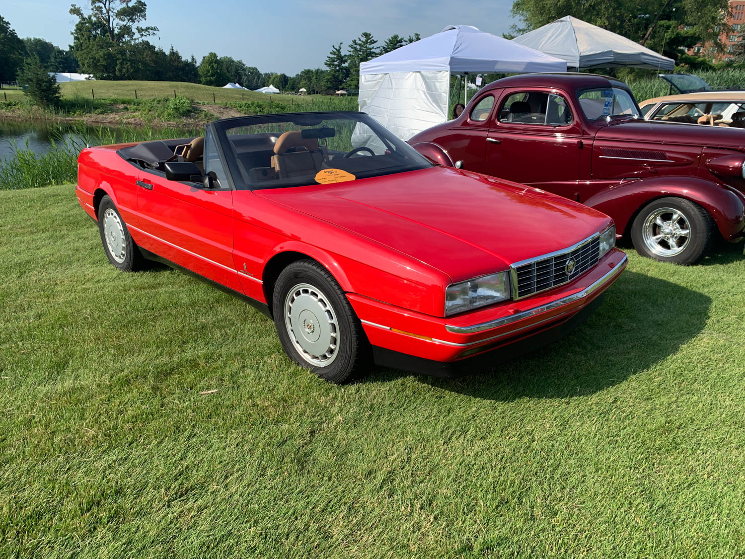 After winning Worst of Show at the 2019 Michigan Concours d'Lemons the owner of this 1992 Allanté wished to remain anonymous, lest he get kicked out of the Allanté Owners Club.