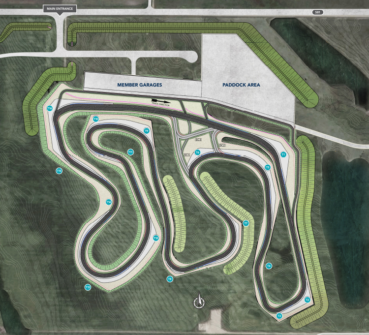 overview of track