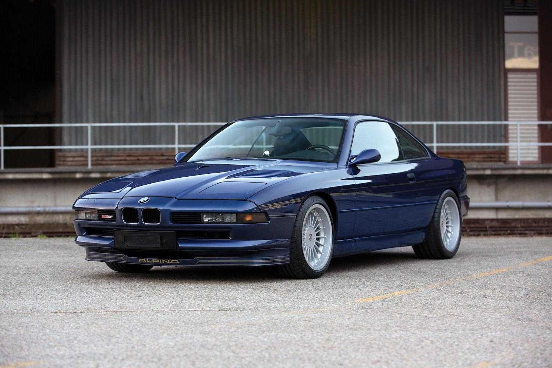 1993 BMW Alpina B12 5.7 Coupe front three-quarter