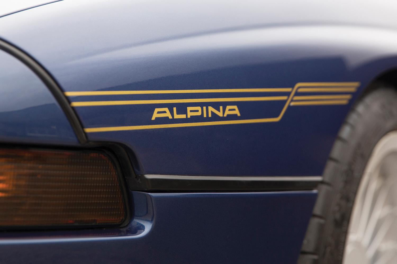 1993 BMW Alpina B12 5.7 Coupe alpina graphic