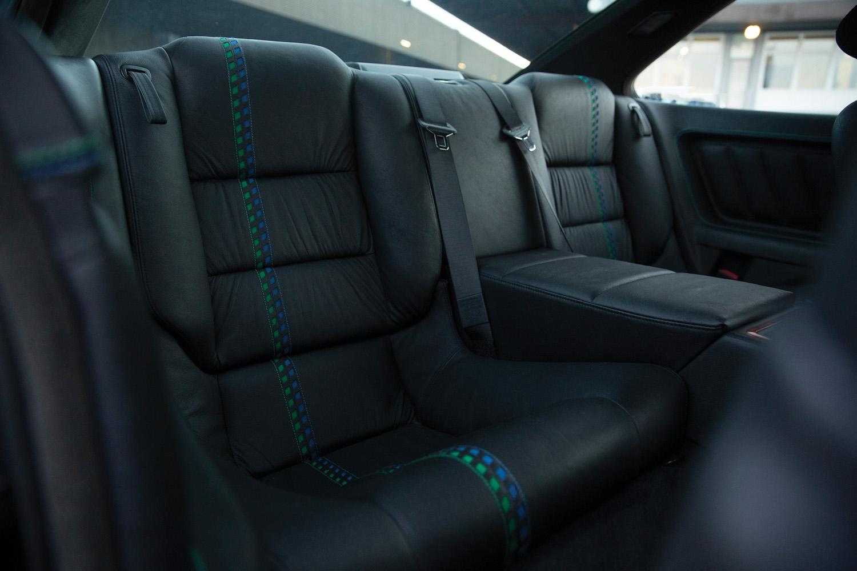 1993 BMW Alpina B12 5.7 Coupe rear seats
