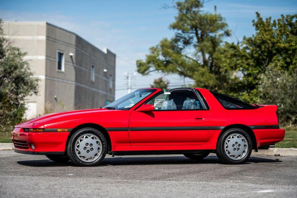 1990 Toyota Supra Turbo Targa profile