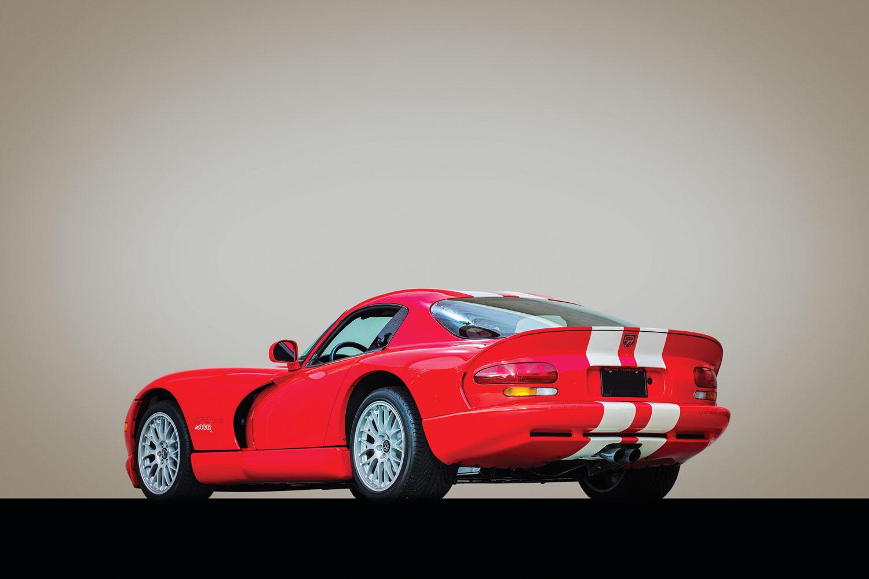 2002 Dodge Viper GTS ACR Final Edition rear 3/4