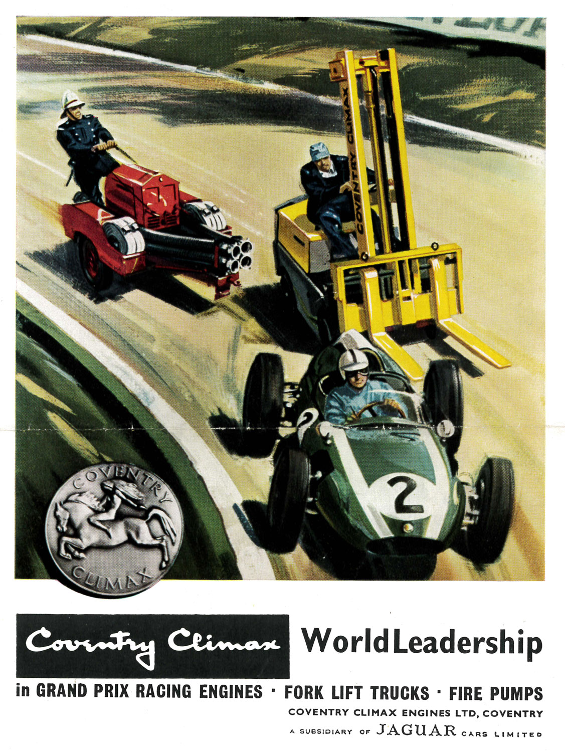 From forklifts to Grand Prix race cars.