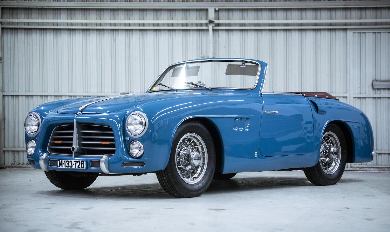 1952 Pegaso Z-102 2.8-Litre Cabriolet front three-quarter