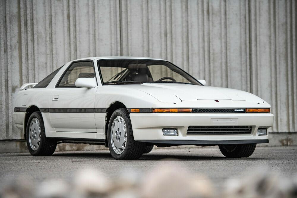 1987 Toyota Supra front 3/4