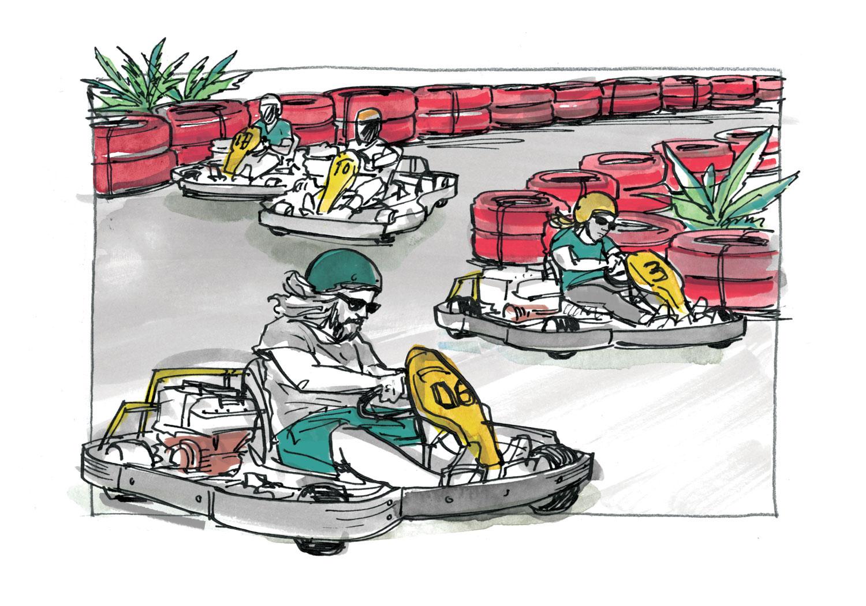 Go-Karting in Asia