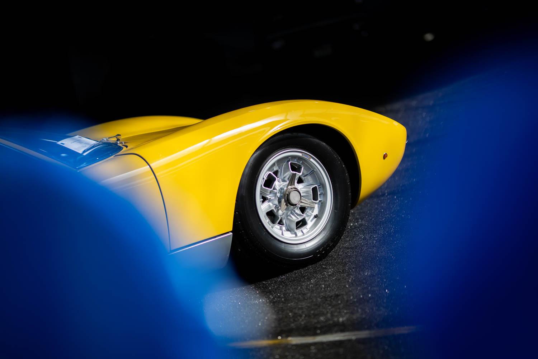 1969 Lamborghini Muira detail