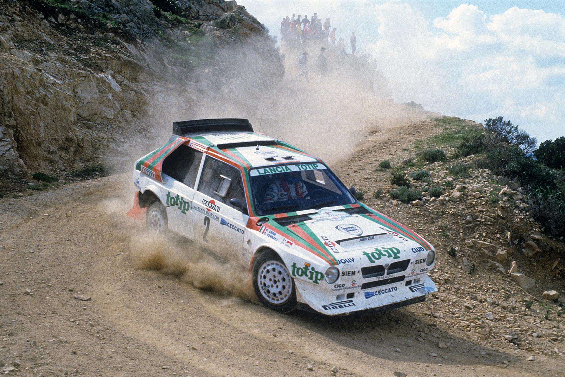 1985 lancia delta s4 corsa group b