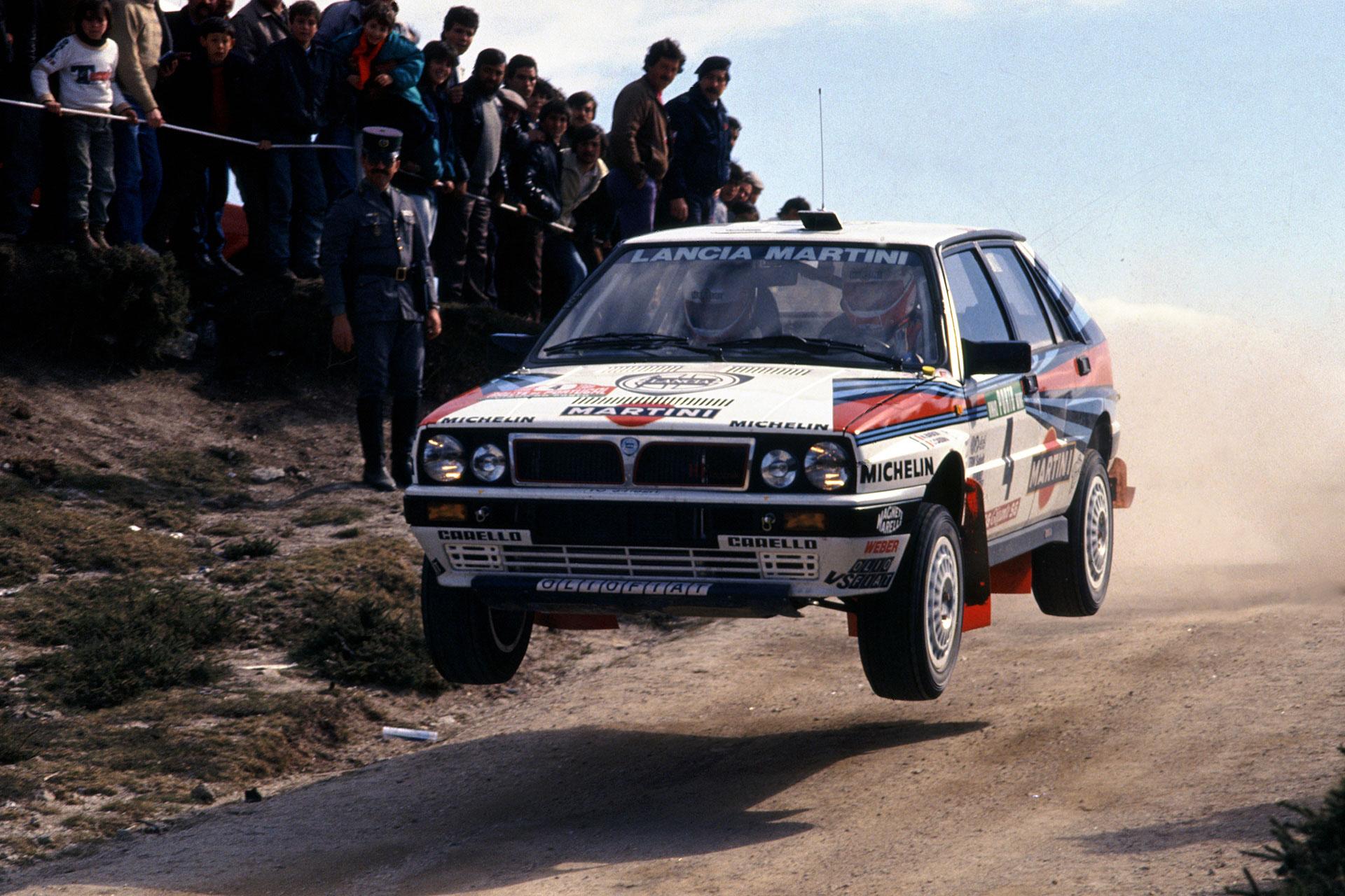 1988 lancia delta hf integrale 8v group a