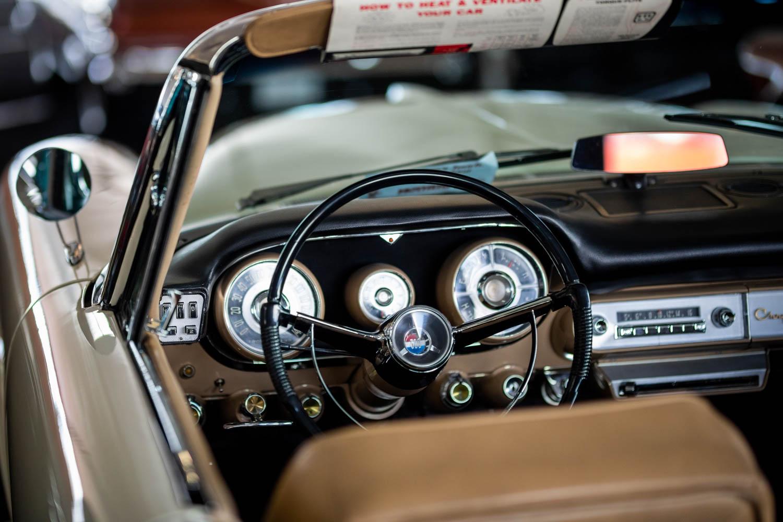 space age steering wheel
