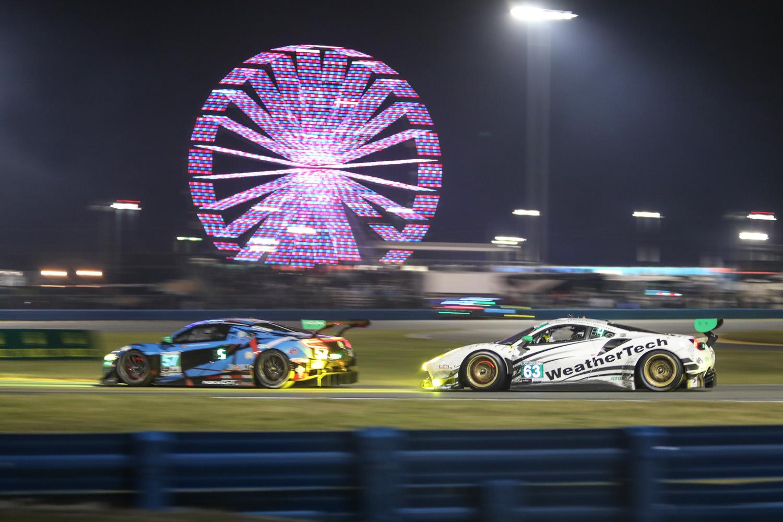 Daytona Audi Ferrari