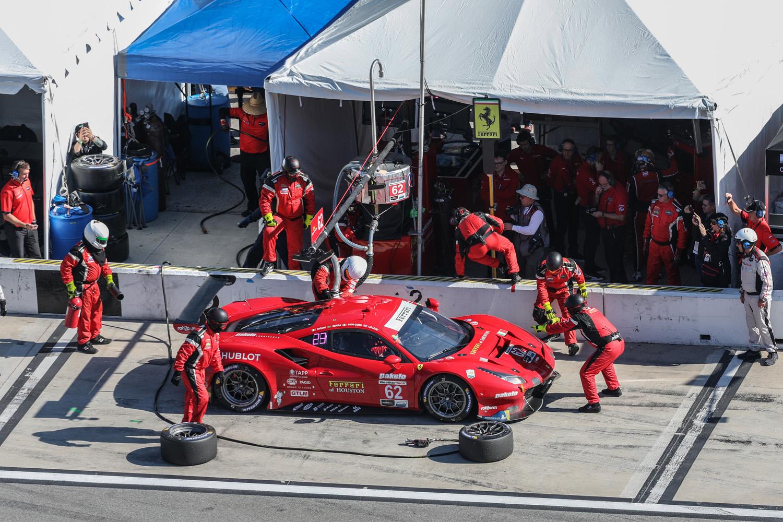 2020 Rolex 24 Daytona Ferrari Pit Stop