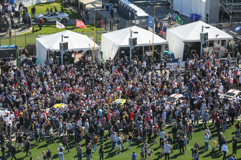 2020 Rolex 24 Daytona Gridwalk