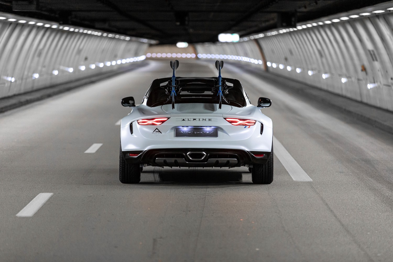 Alpine A110 SportsX rear