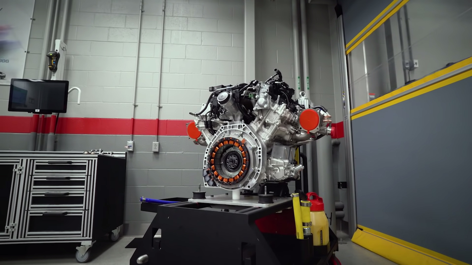 nsx engine on stand