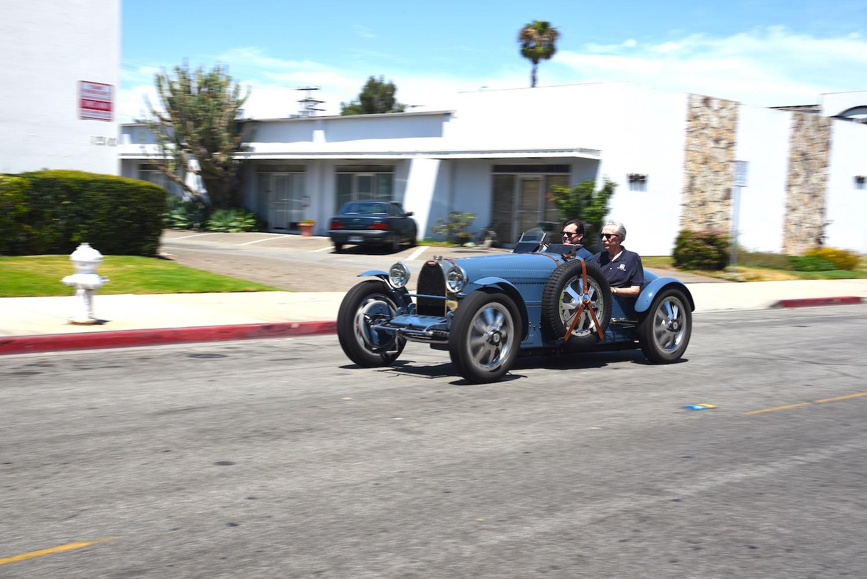 old bugatti front three-quarter