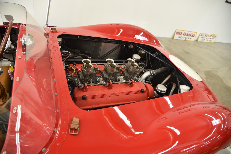 vintage ferrari race engine