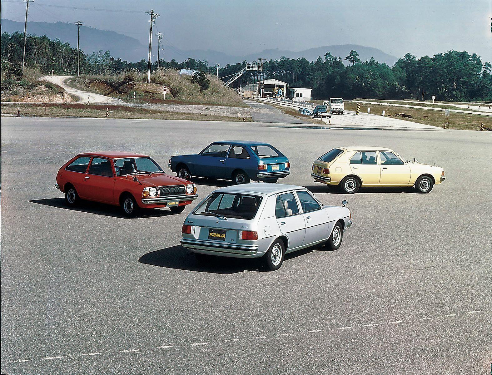Mazda Familia AP 1977