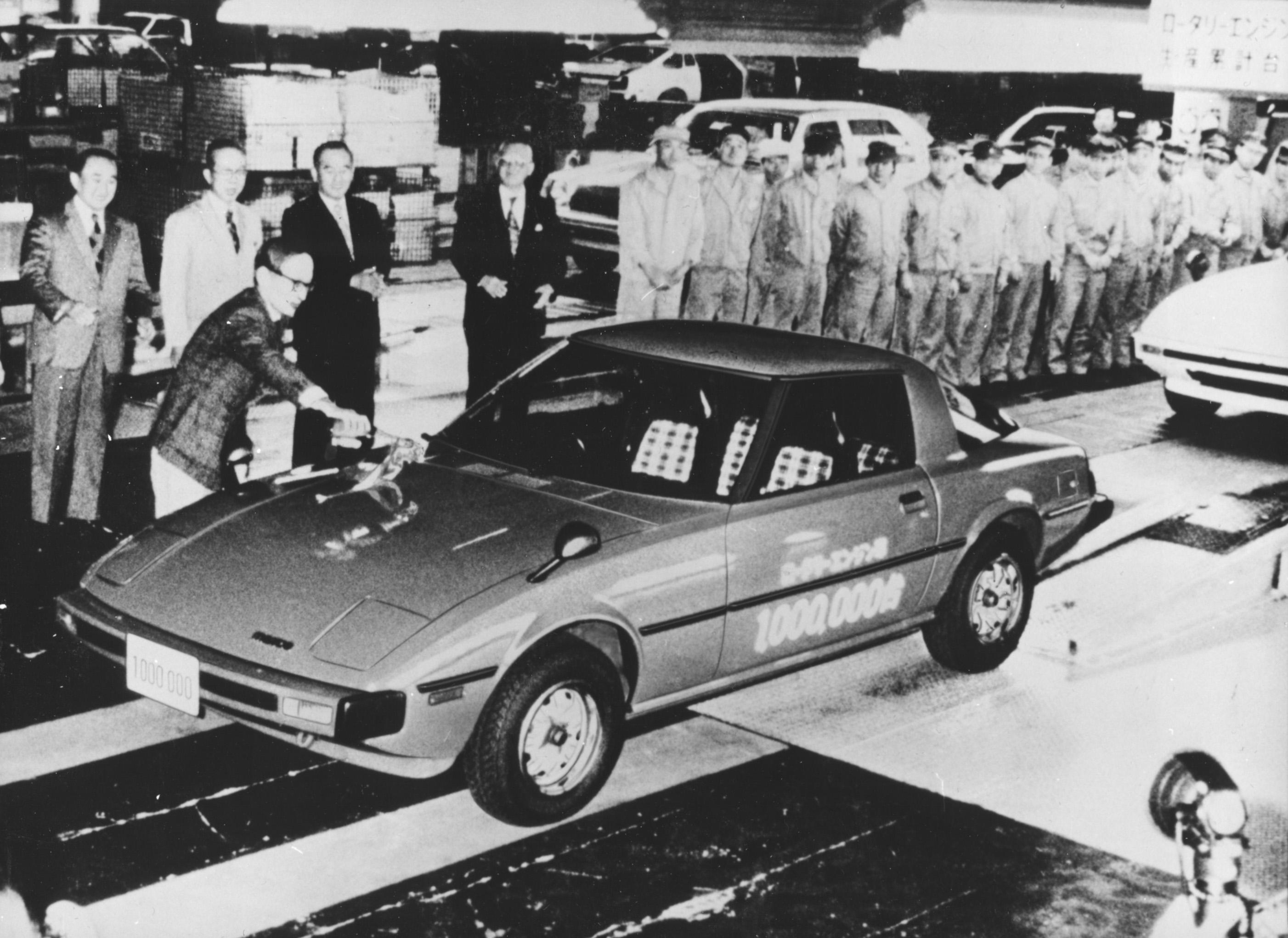 Mazda RX-7 Eine Million Wankel-Triebwerke 1978