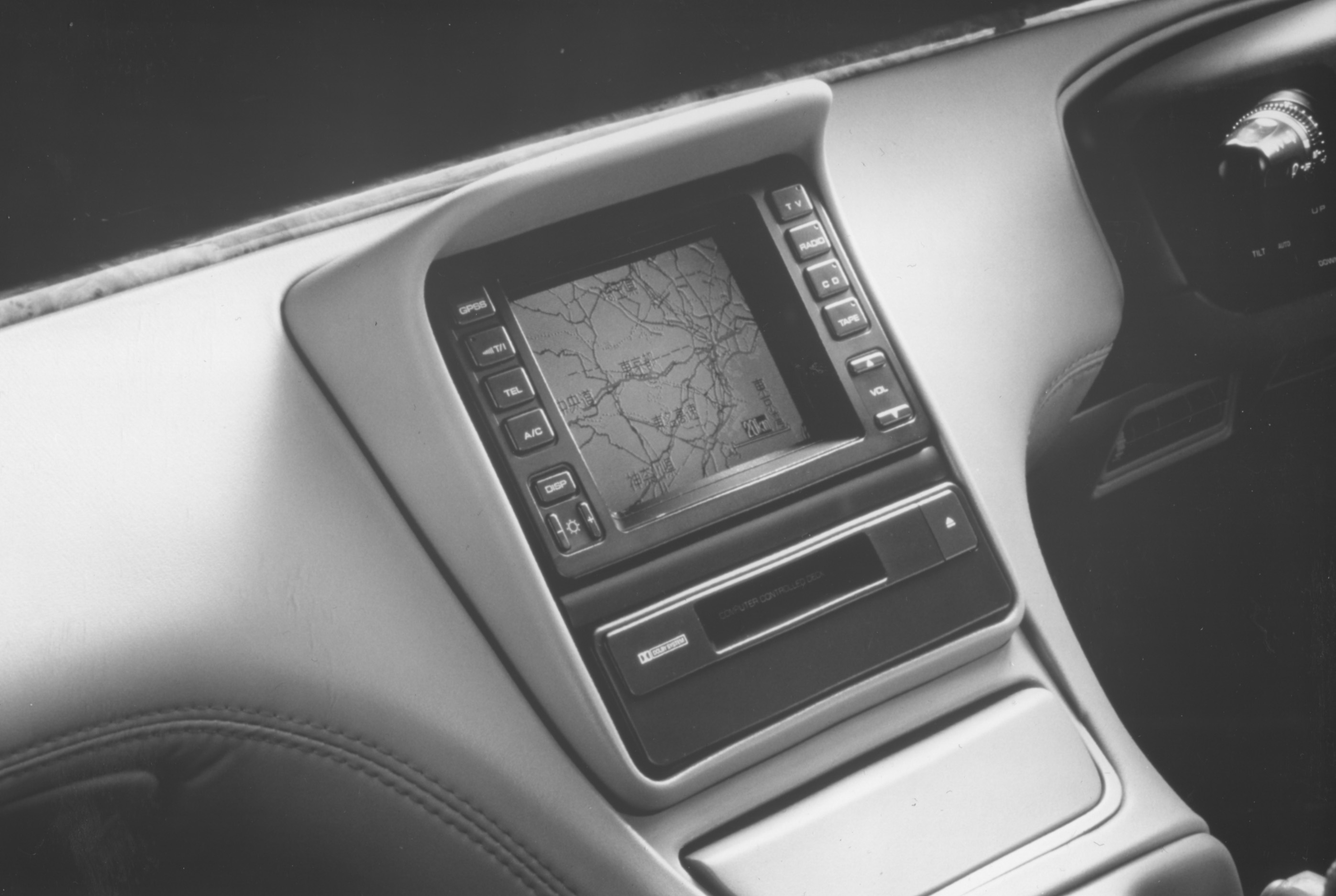 Mazda Cosmo mit Satelliten Navigation 1991