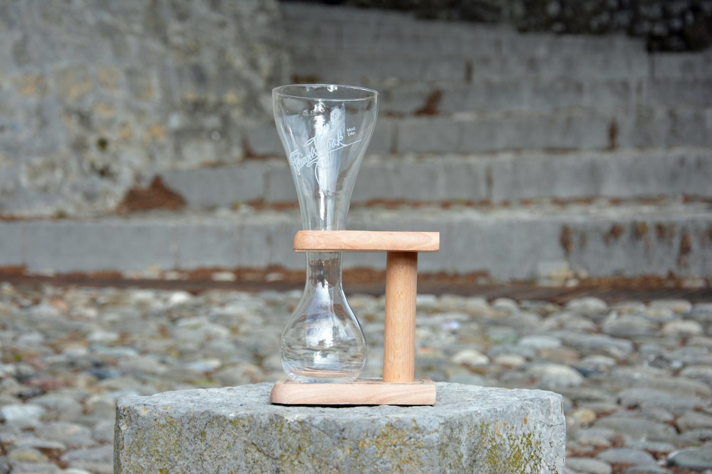 empty kwak glass