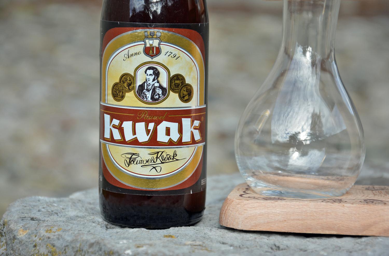 kwak drink label up close