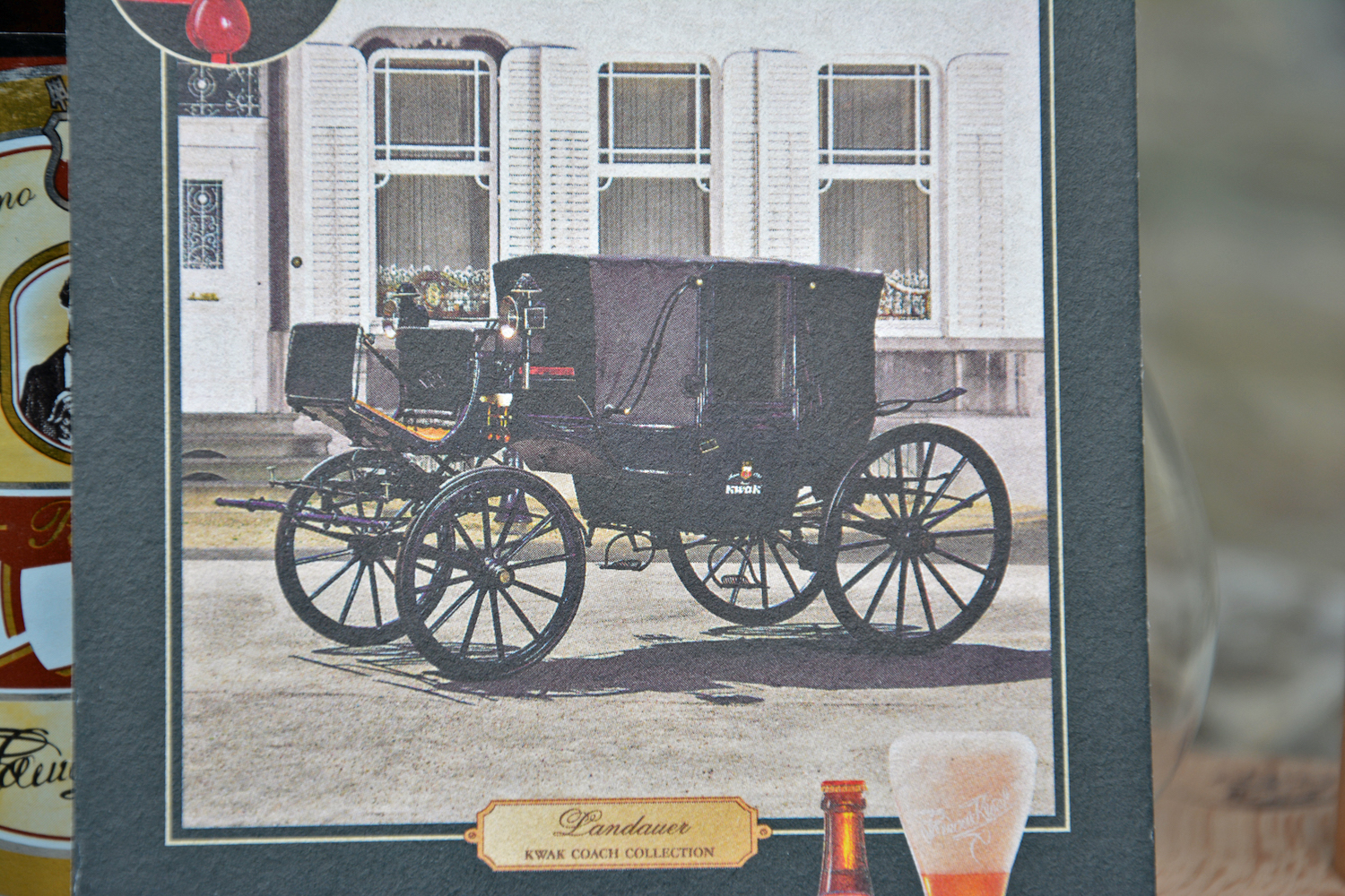 kwak carriage photo in close