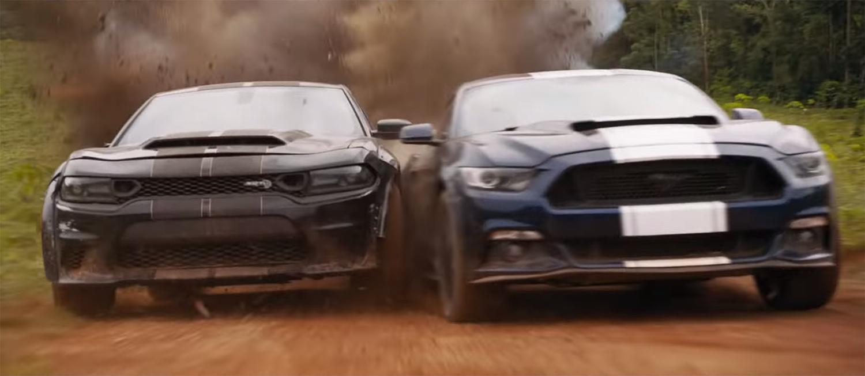 F9 trailer shelby cobra vs dodge demon
