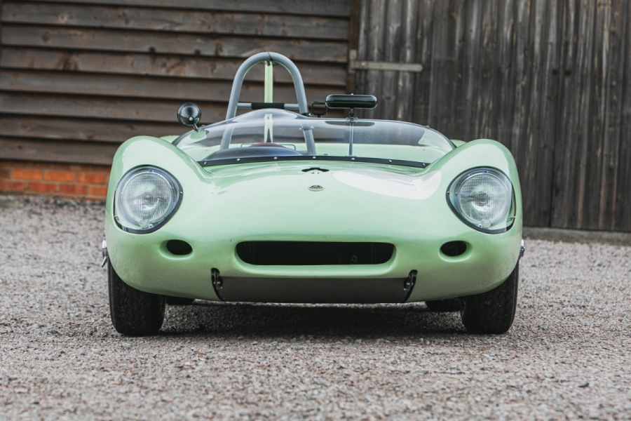 lotus race car front