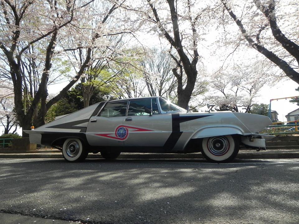 """""""Japanese Batmobile"""" from Ultra-Seven"""