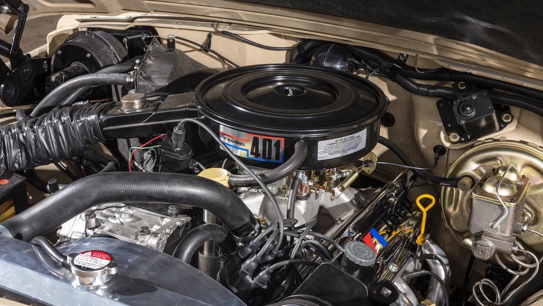1978 Jeep J10 Truck engine