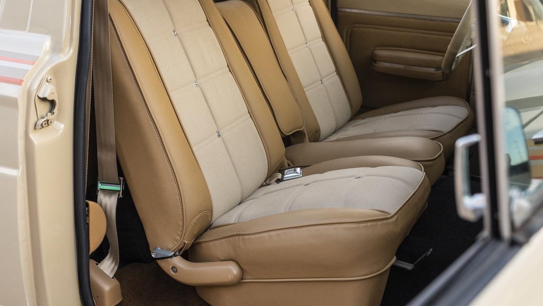 1978 Jeep J10 Truck interior seats