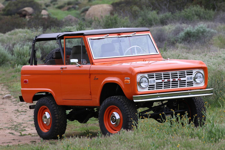 1966 Ford Bronco ICON Old School BR Build #66