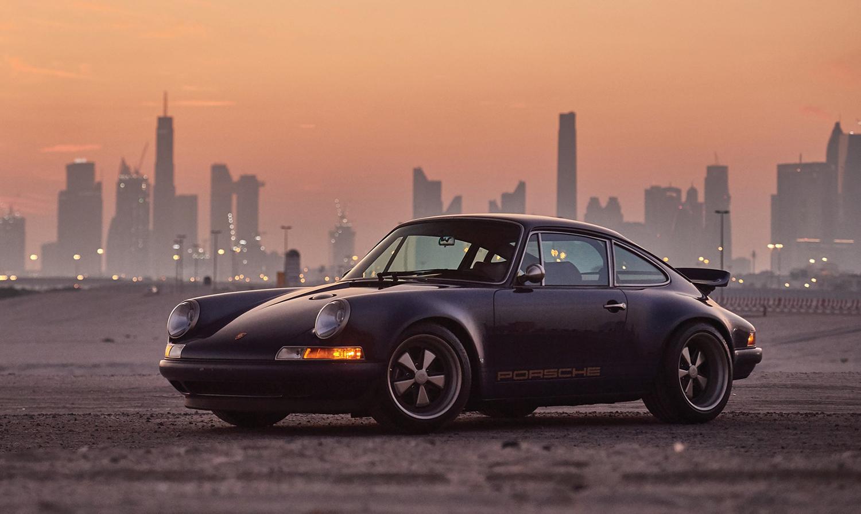 1993 Porsche 911 Reimagined by Singer front three-quarter