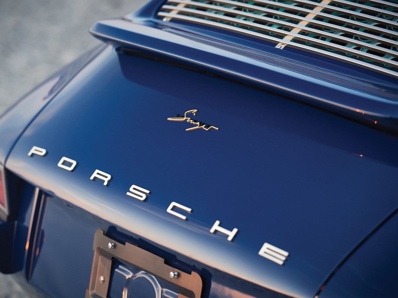 1993 Porsche 911 Reimagined by Singer rear