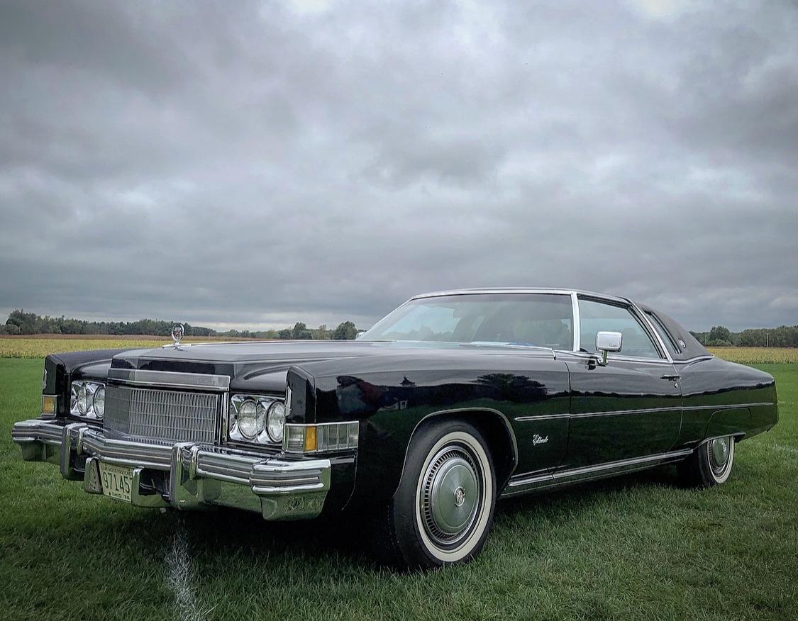 1974 Cadillac Eldorado front three-quarter