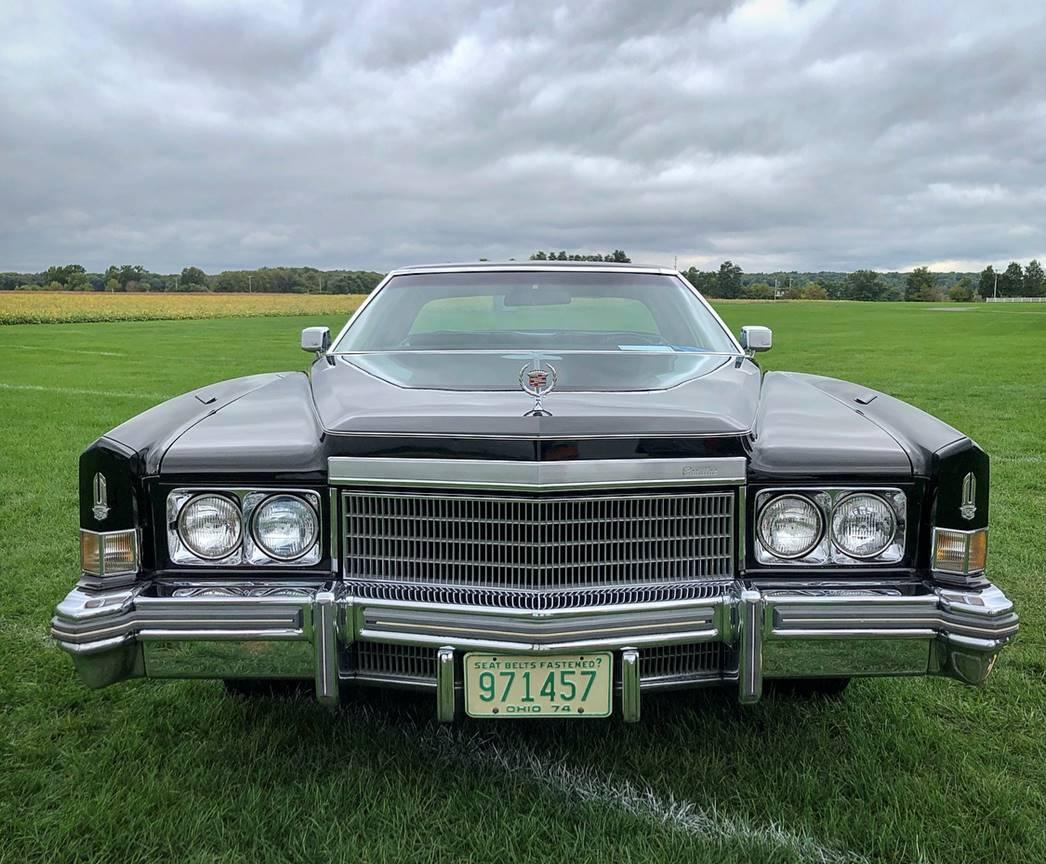 1974 Cadillac Eldorado front