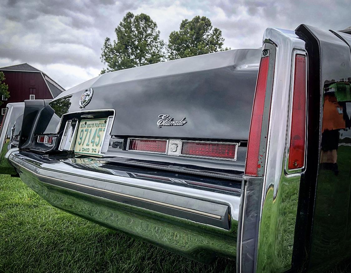 1974 Cadillac Eldorado rear tail light