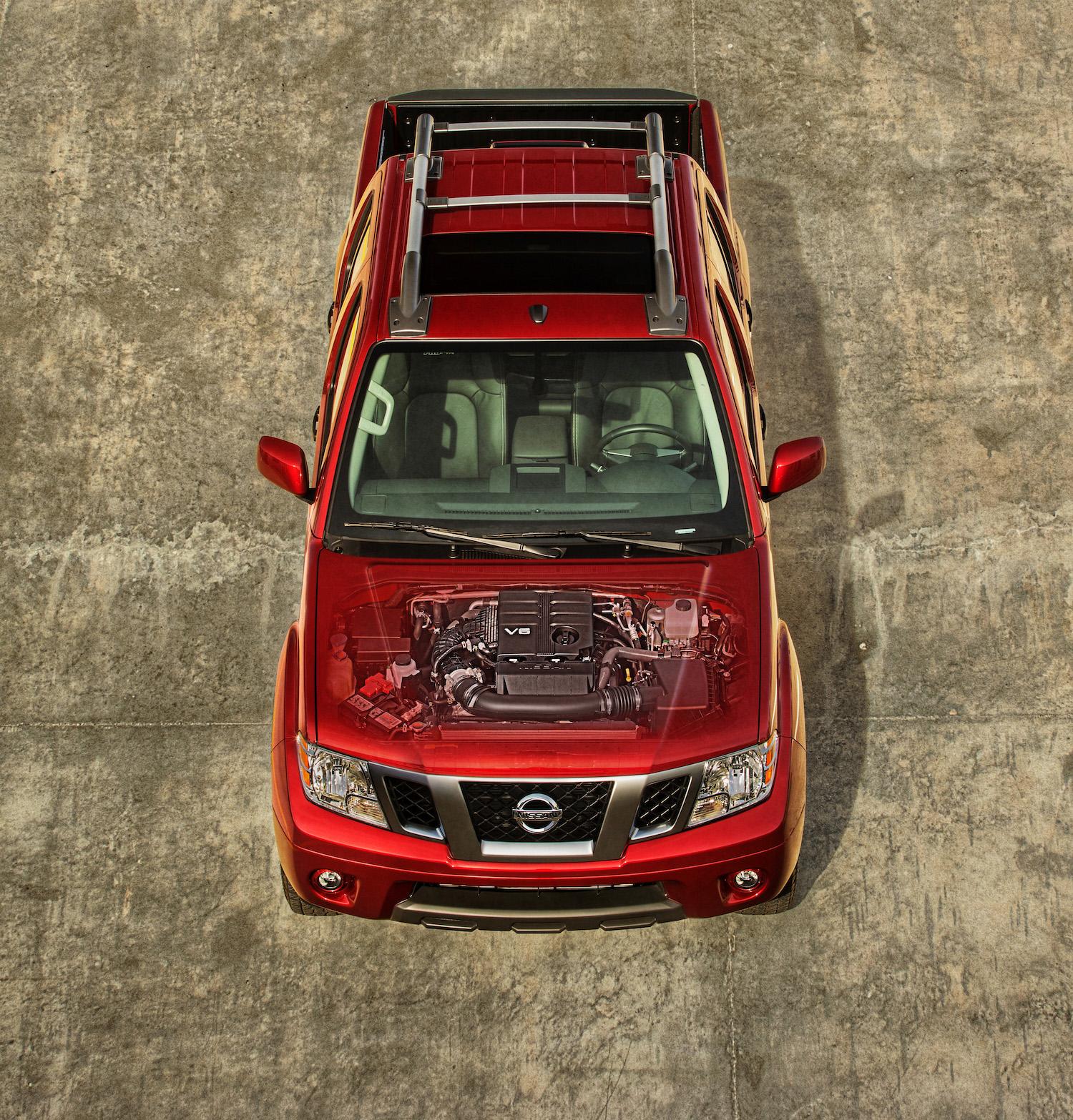 2020 Nissan Frontier overhead engine heart