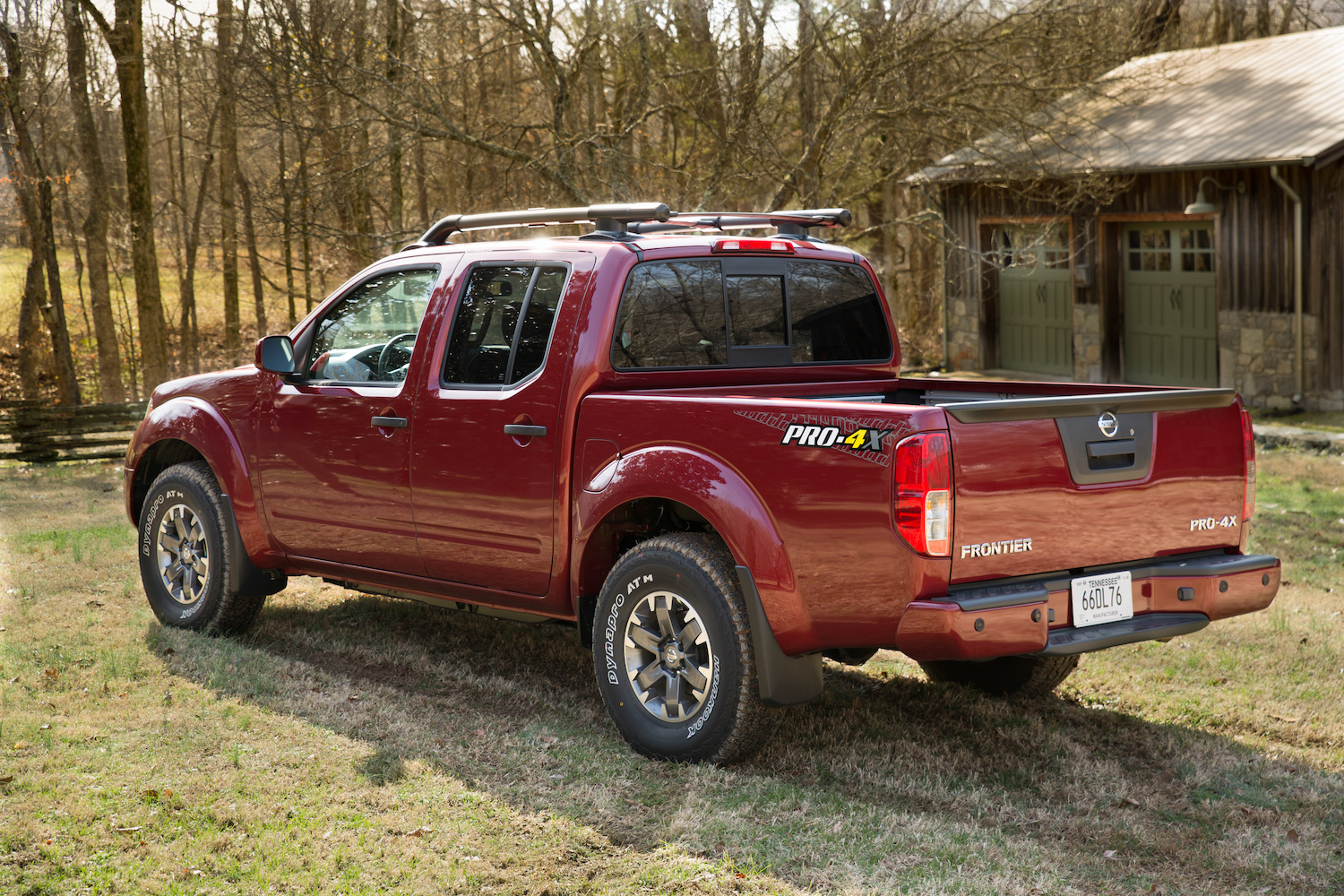 2020 Nissan Frontier rear three-quarter