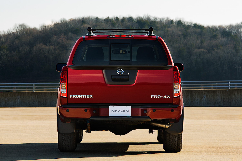 2020 Nissan Frontier rear